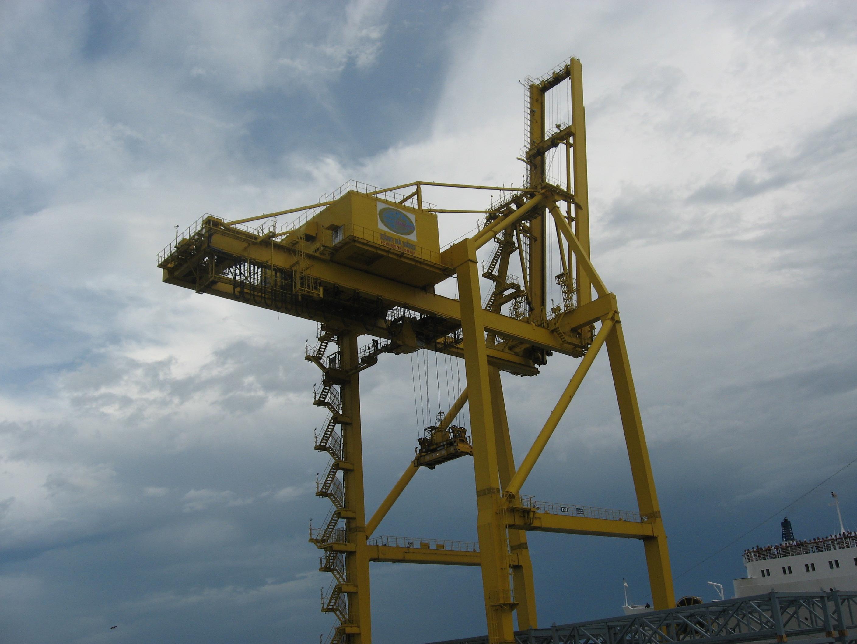 Cung cấp và lắp dựng cần cẩu: cảng Đà Nẵng