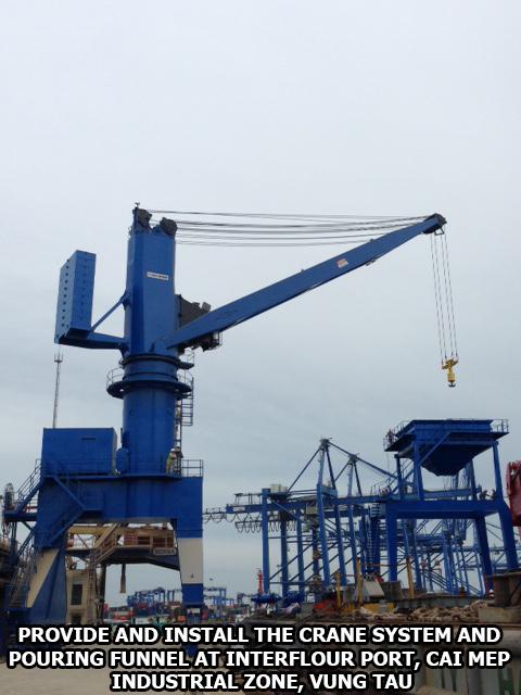 Cảng Interflour - Cái Mép -Vũng Tàu