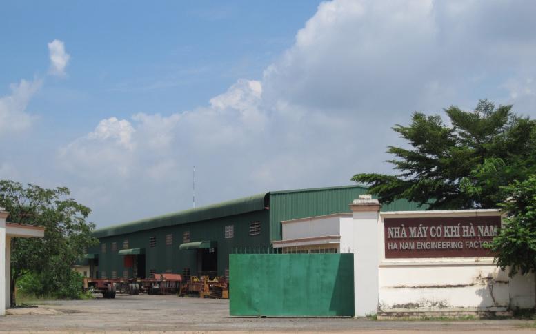 Nhà máy cơ khí Hà Nam